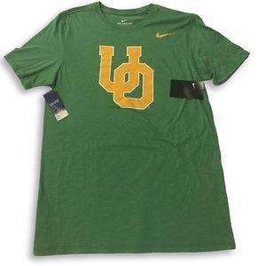 NWT Oregon Ducks Nike Tri-Blend Vault Logo T-Shirt